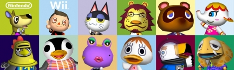 Banner Animal Crossing Lets Go to the City
