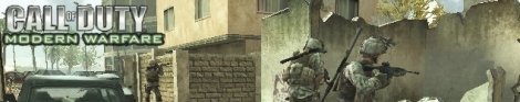 Banner Call of Duty Modern warfare Reflex