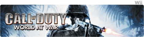 Banner Call of Duty World at War
