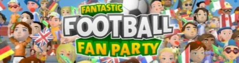 Banner Fantastic Football Fan Party