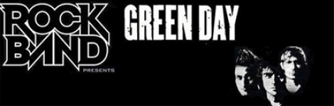 Banner Green Day Rock Band