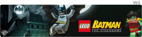 Banner LEGO Batman The Videogame