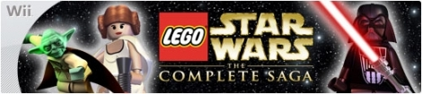 Banner LEGO Star Wars The Complete Saga