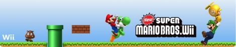 Banner New Super Mario Bros Wii