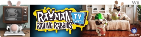 Banner Rayman Raving Rabbids TV Party