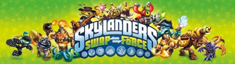 Banner Skylanders Swap Force