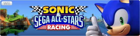 Banner Sonic and Sega All-Stars Racing