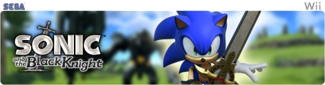 Banner Sonic and the Black Knight