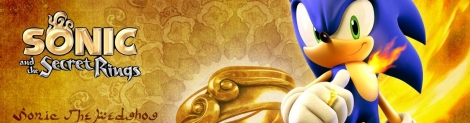 Banner Sonic and the Secret Rings