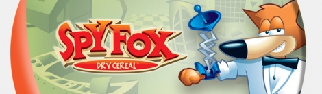 Banner Spy Fox Dry Cereal