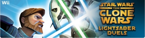 Banner Star Wars The Clone Wars Lightsaber Duels