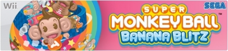 Banner Super Monkey Ball Banana Blitz