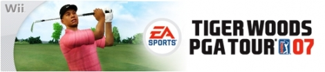 Banner Tiger Woods PGA Tour 07
