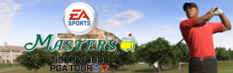 Banner Tiger Woods PGA Tour 12 The Masters