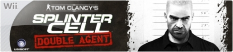 Banner Tom Clancys Splinter Cell Double Agent