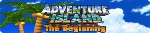 Banner Adventure Island The Beginning