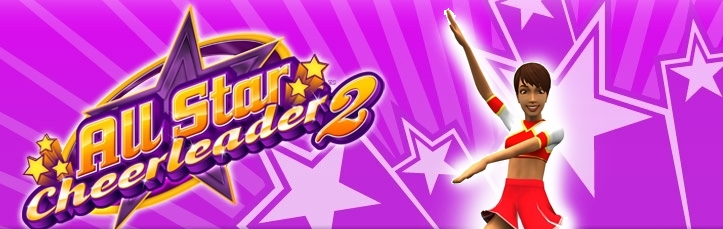 Banner All Star Cheerleader 2