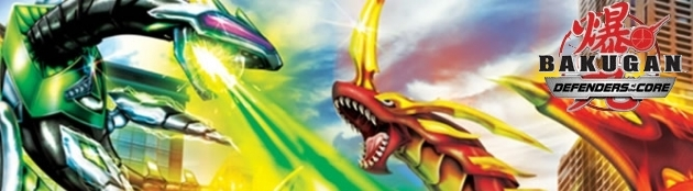 Banner Bakugan Defenders of the Core
