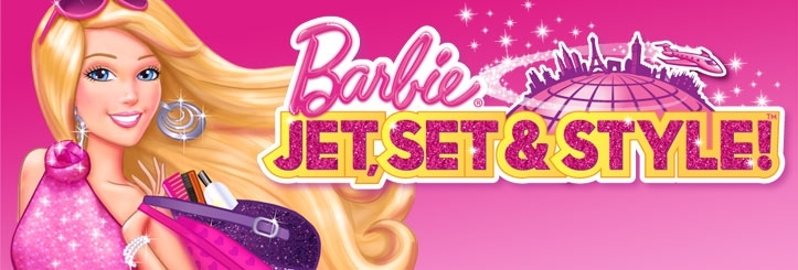 Banner Barbie - Glam Jet and Stijl