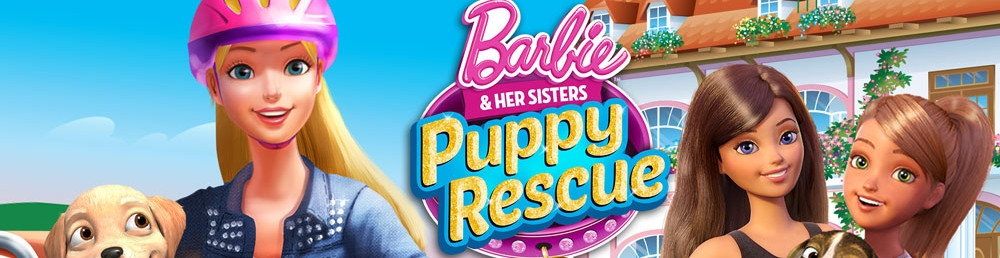 Banner Barbie and Her Sisters Puppy Rescue