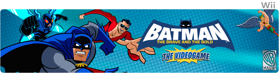 Banner Batman The Brave and the Bold - The Videogame