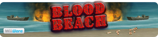 Banner Blood Beach