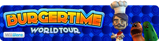 Banner BurgerTime World Tour