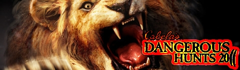Banner Cabelas Dangerous Hunts 2011