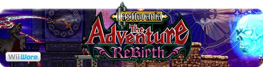 Banner Castlevania The Adventure ReBirth