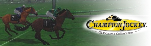 Banner Champion Jockey G1 Jockey and Gallop Racer