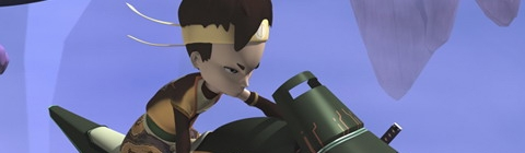Banner Code Lyoko Quest for Infinity