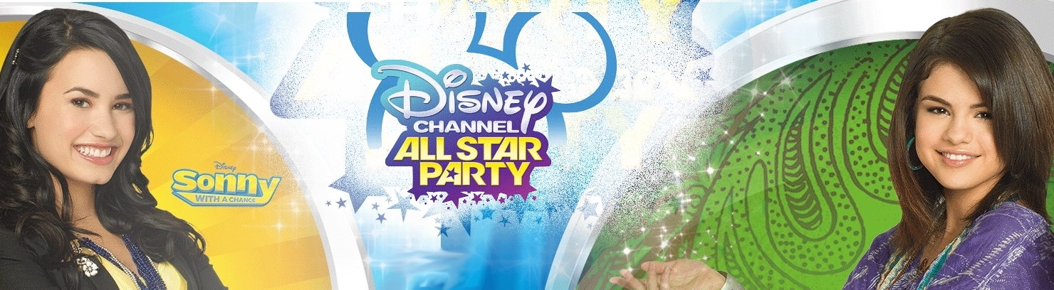 Banner Disney Channel All Star Party