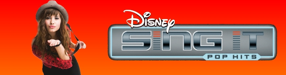 Banner Disney Sing It Pop Hits