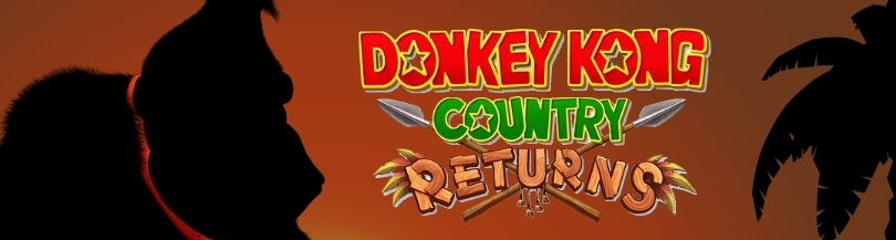 Banner Donkey Kong Country Returns