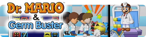 Banner Dr Mario and Germ Buster