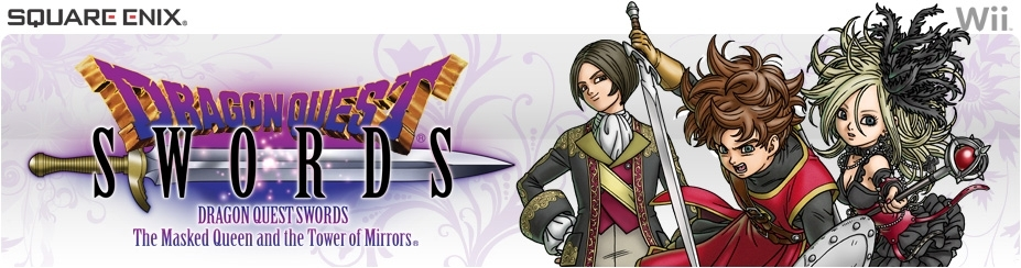 Banner Dragon Quest Swords The Masked Queen and the Tower of Mirrors