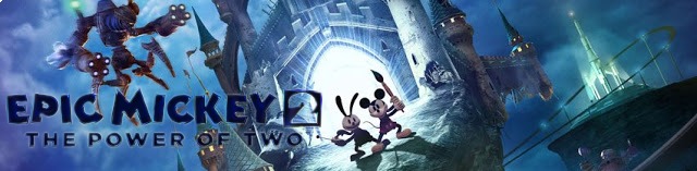Banner Epic Mickey 2 The Power of Two