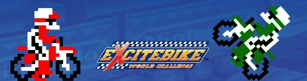Banner Excitebike World Challenge