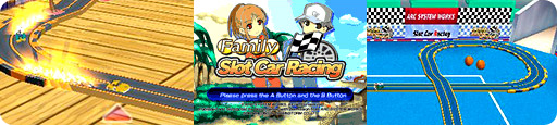 Banner Family Slot Car Racing