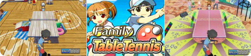 Banner Family Table Tennis