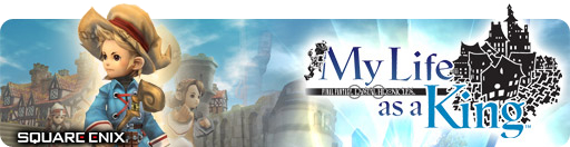 Banner Final Fantasy Crystal Chronicles My Life as a King