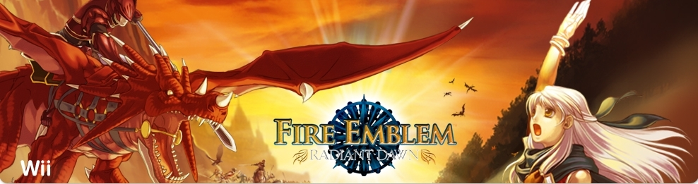 Banner Fire Emblem Radiant Dawn