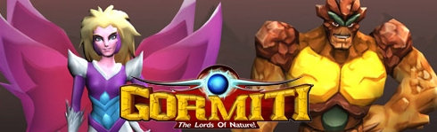 Banner Gormiti The Lords of Nature
