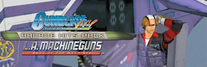 Banner Gunblade NY and LA Machineguns Arcade Hits Pack