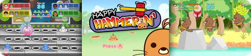 Banner Happy Hammerin