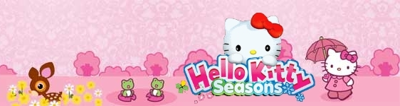 Banner Hello Kitty Seasons