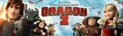 Banner How to Train Your Dragon 2