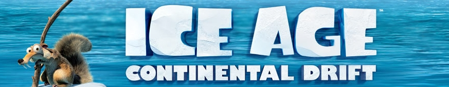 Banner Ice Age 4 Continental Drift - Arctic Games