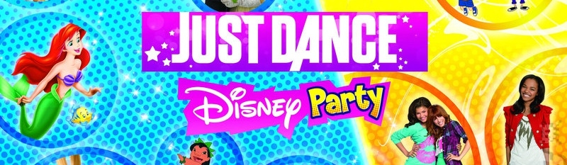 Banner Just Dance Disney Party