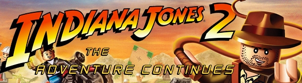 Banner LEGO Indiana Jones 2 The Adventure Continues
